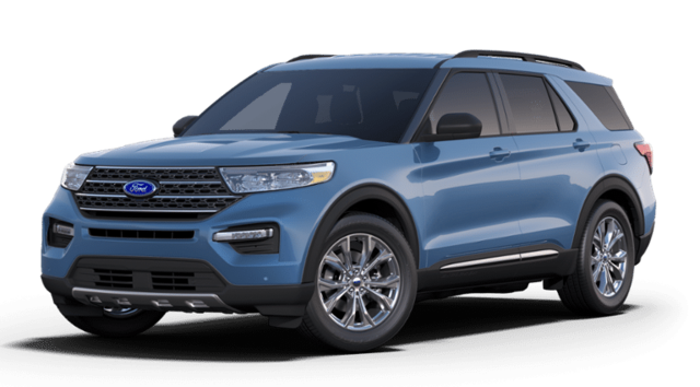 New 2020 Ford Explorer XLT SUV in San Angelo. TX